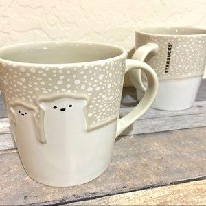 Starbucks Polar Bear Coffee Cups | 2 NWOT